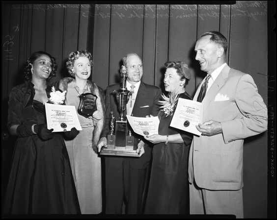 Urban League Awards, 1955