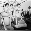 Norwalk Community Fair (pre-show shots of Queen and some of her court), 1954