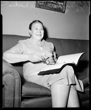 Lynwood Councilwoman, 1954