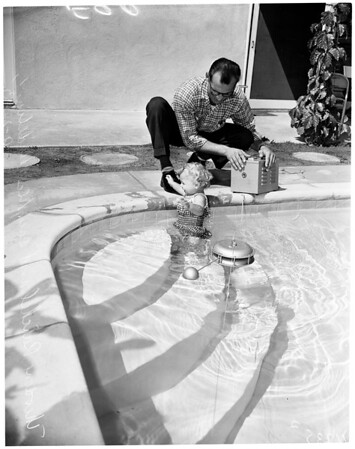 Swimming pool safety (Aqualarm), 1954