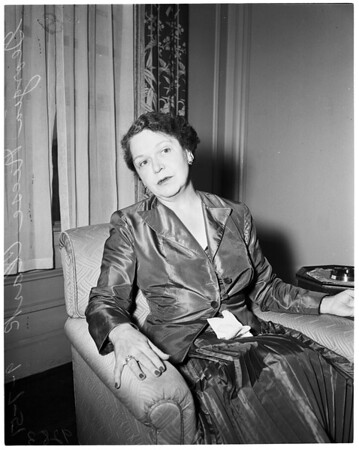 Interview --- Biltmore, 1951