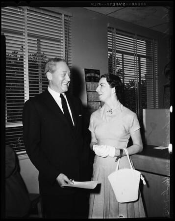 Cooper-Shevlin wedding (Pasadena), 1955