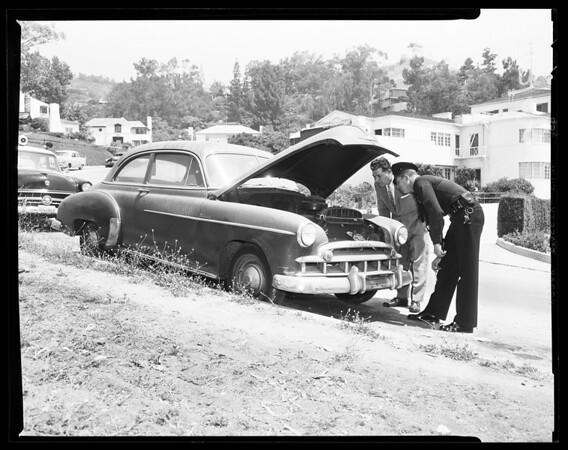 Dr. George Fuller's car (missing), 1956