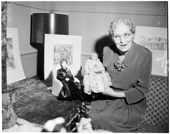 Old peoples hobbies, 1952