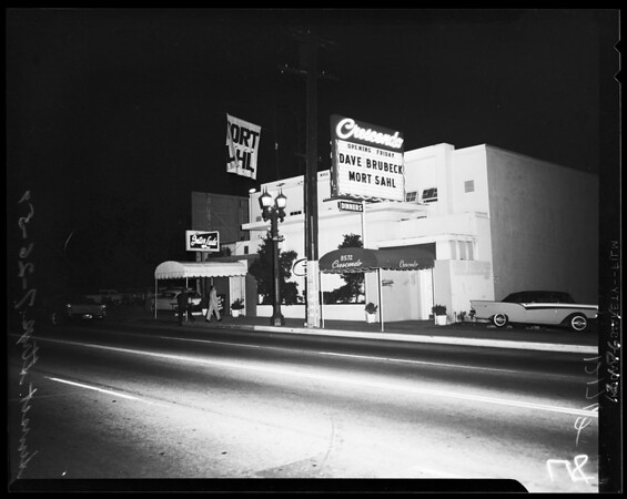 Sunset strip feature, 1957
