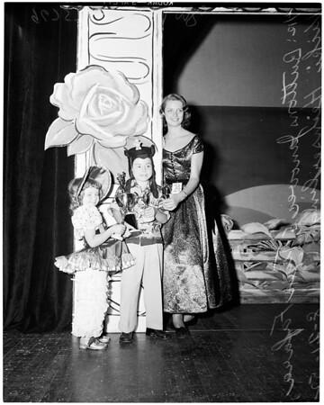 Junior Jubilee winners, 1952