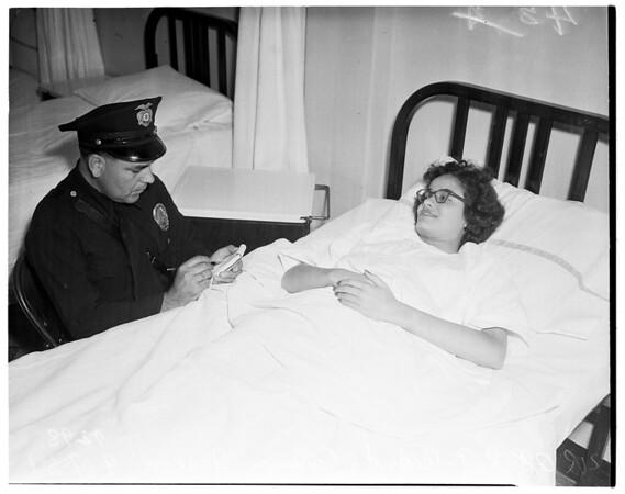 Shooting victim, 1951