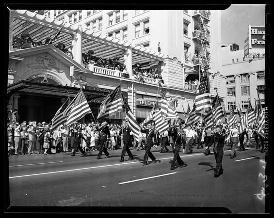 Legion, San Diego, 1951