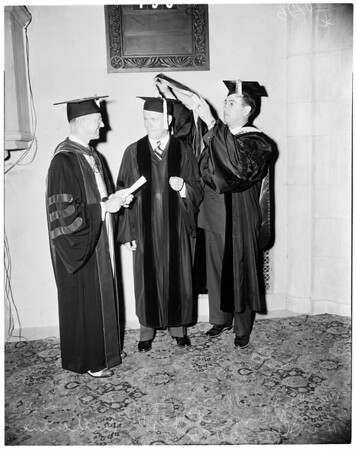 College of Osteopathic Physicians and Surgeons (graduation), 1952