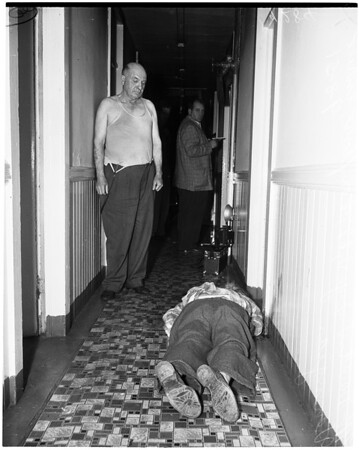 Second Street murder, 1951