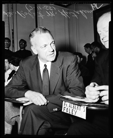 Dr. Hutchins at Loyola Workshop, 1955