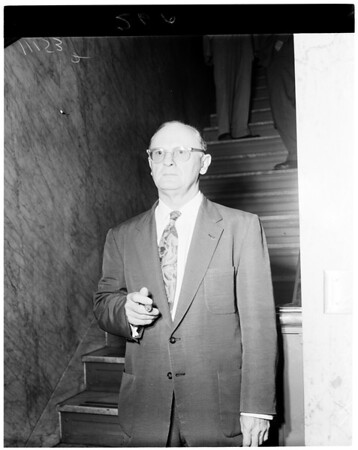 Haymes hearing, 1954