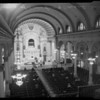Churches: Catholic (Mass at St. Vibiana's), 1954