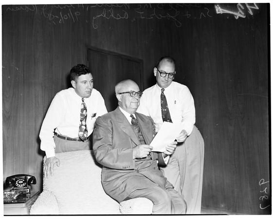 Henry J. Kaiser, Senior at Fontana Steel Plant, 1951