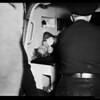 Robbery suspects shot, 1952