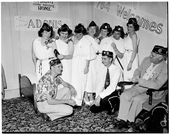 Legion in San Diego, 1951