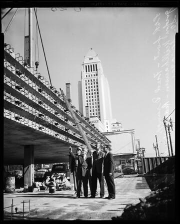 Hiway building, 1958