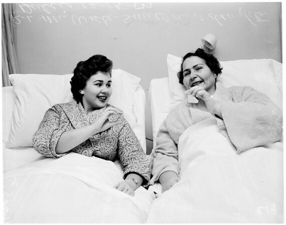 Gallstones (Cedars of Lebanon Hospital), 1954