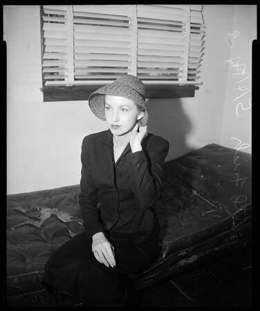 Contempt hearing, 1954