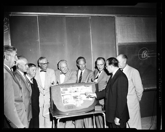 Atomic reactor (UCLA), 1955