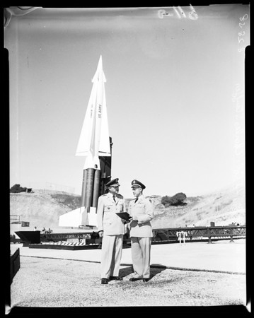 Missiles-Nike-Hercules and Nike-Ajax, 1958