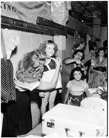 Junior Jubilee talent contest, 1952