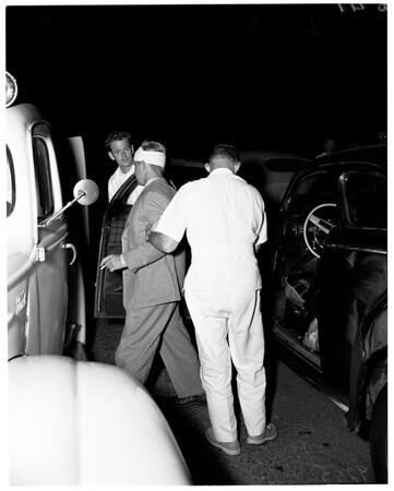 Traffic, National Boulevard and Inglewood Boulevard, West Los Angeles, 1951