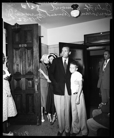 Letourneau and Sherwin elopement, 1952