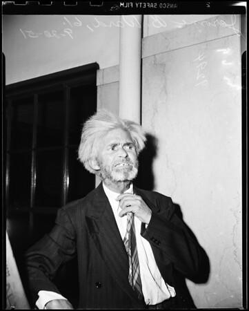 Disturbing the peace -- misdemeanor assault, 1951