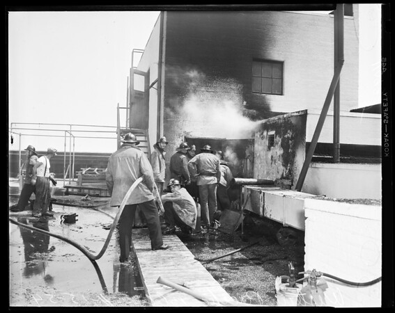 Western Pacific Building fire, 1954