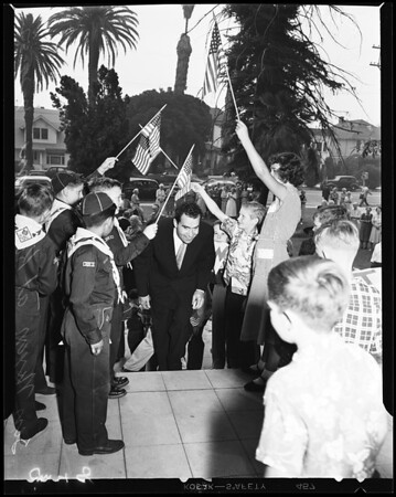 Nixon -- Volunteers of America, 1952