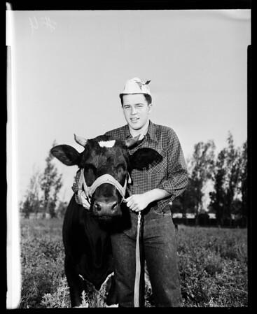 San Bernardino County fair at Victorville, 1952