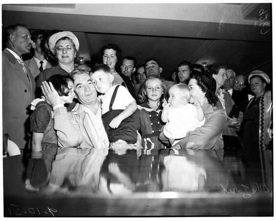Bail hearing ... Artukovich, 1951