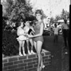 Twins and Miss San Fernando Valley, 1958