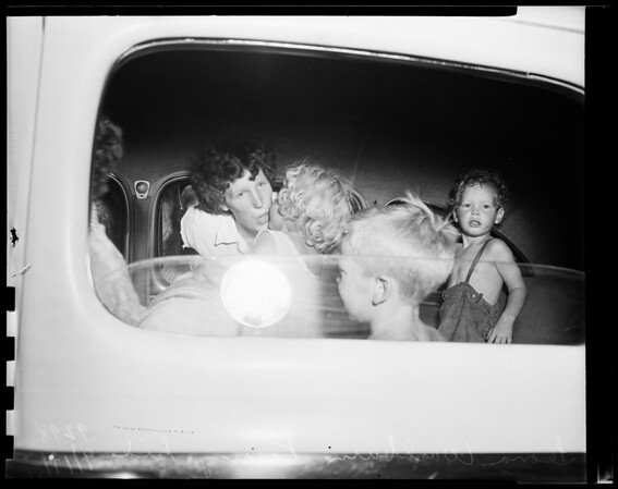 Unfit home for children, 1951