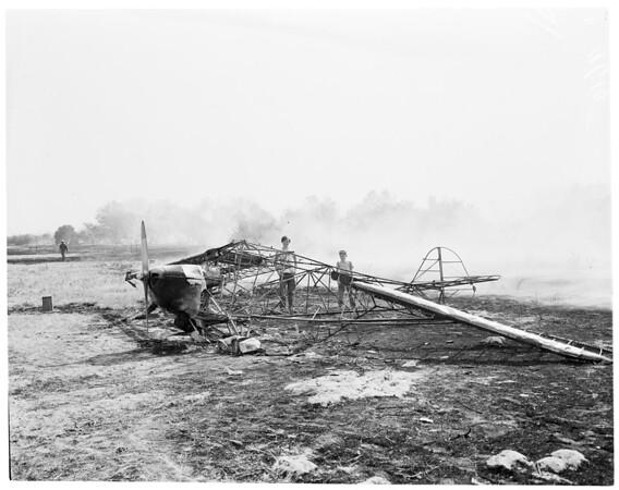 Fire in Rio Hondo, 1952