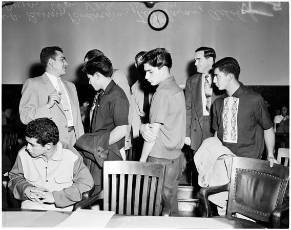 Zip Gun Hearing, 1954
