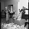 Spastic Children's League -- Candy cane ball, 1957
