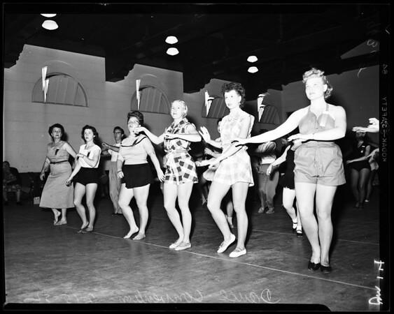 Dance convention, 1952