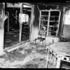 Fire in Palm Springs (one dead), 1954