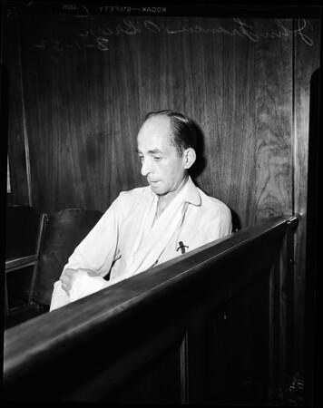 O'Brien robbery preliminary, 1952