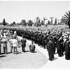 Loyola graduation, 1952