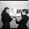 Photo Exhibit in State Museum High School Exhibition, 1956