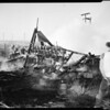 Fire at 120th Street and Western Avenue, 1952