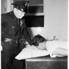 Shot attempt suicide victim (Hollenback Police Station), 1952