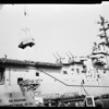 Bloodmobile on aircraft carrier 'Philippine Sea', 1956