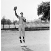 Monrovia High School basketball stars, 1952