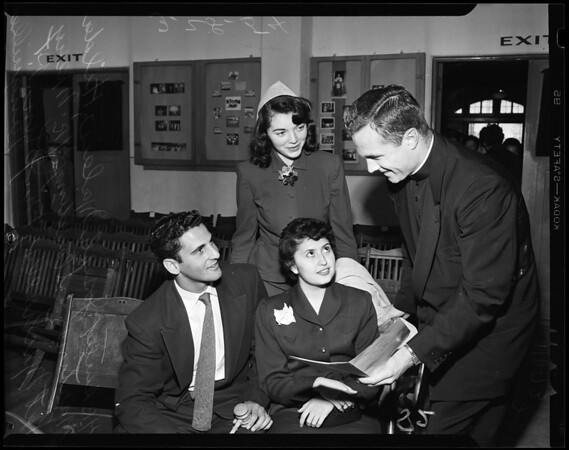 Catholic student forum,1954