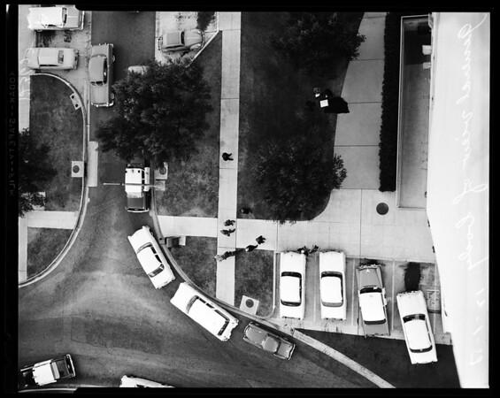 Park La Brea leaper, 1958