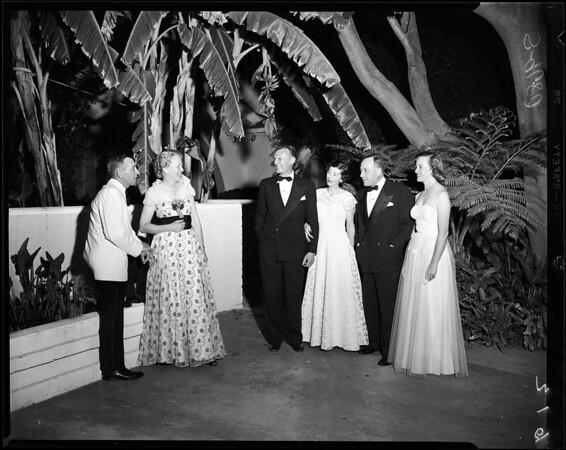 Cheviot Hills Monte Mar Vista Garden Club, 1952